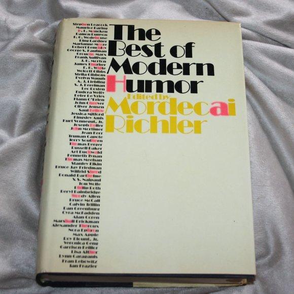 Vintage The best of modern humor book Richler